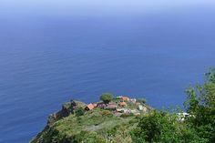 Klein dorpje in het noorden van La Palma