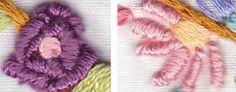 little dear tracks: Five Flossy Flowers