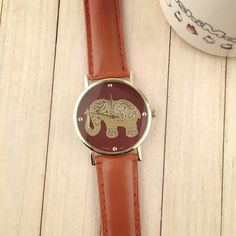 New Women Leather Bracelet Watches Fashion Casual Elephant Wrist Watches Relojes Mujer Relogio Feminino Clock - Online Shopping for Watches