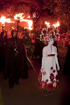 May Queen - Beltane Fire Society 2011 by euan_pics, via Flickr