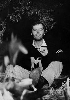 """""""Easy Rider"""" Dennis Hopper, Peter Fonda and Jack Nicholson 1969 Columbia Easy Rider, Jack Nicholson, First Academy Awards, Badass Beard, Star Of The Day, Dennis Hopper, Warren Beatty, Henry Fonda, He Is Coming"""