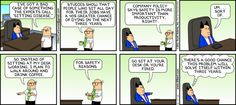 Dilbert comic strip for 11/17/2013 from the official Dilbert comic strips archive.