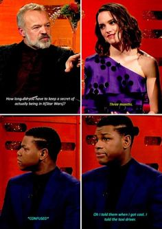 "LOL John Boyega! ""I told the taxi driver!"""
