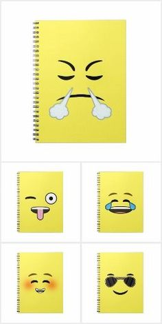 Emoji Notebook Adorable Emoji notebook made by Nir P by Nir P