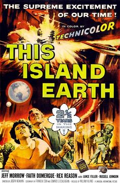 This Island Earth (1955), poster art by Reynold Brown