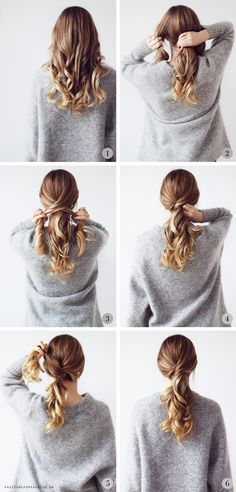 hair up for work \ hair updos . hair updos for medium hair . hair up . hair updos for long hair . hair up for work . hair updos for weddings Curly Hair Styles, Medium Hair Styles, Hair Styles Work, Hair Styles Easy, Chic Hairstyles, Hairstyle Ideas, Wedding Hairstyles, Hair Ideas, Beautiful Hairstyles