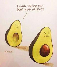 Avocado humor.