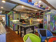 Talk about #color in your #home! http://blog.juliabfee.com/2015/02/bronxvilles-most-colorful-home/
