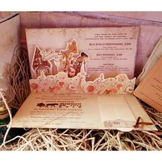 Vinas invitation. Traditional nvitation. Unique. Wayang. Vintage invitation. Flower invitation. Any question please visit us at website www.vinas-invitation.com. courtesy of devi and bayu