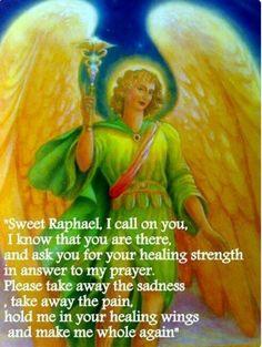 Amen Angel Protector, Archangel Prayers, Archangel Raphael Prayer, Angel Quotes, Angel Sayings, I Believe In Angels, Angel Guidance, My Guardian Angel, Angel Cards