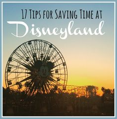 """My friend Keri recently took a trip with her family of 5 to Disneyland and was able to successfully do it on a budget. (Make sure to read her post, 12 Tips for Saving Money at Disneylandin case you missed it!) She recently was telling me that """"time is money"""" at Disneyland and thought it […]"""
