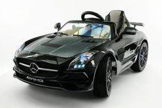 MERCEDES SLS AMG FINAL EDITION 12V KIDS RIDE-ON CAR BATTERY POWERED WHEELS WITH PARENTAL REMOTE | BLACK