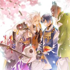 Image in Touken Ranbu collection by yuikhanh on We Heart It Touken Ranbu Characters, Anime Characters, Manga Art, Anime Art, Natsume Yuujinchou, Rurouni Kenshin, Anime Love, Kawaii Anime, Otaku