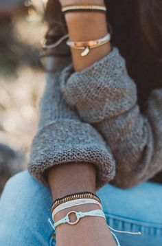 Gold Digger Woven Seed Bead | Pura Vida Bracelets