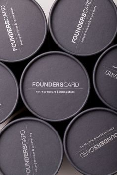 Hovard Design: Founders Card Packaging
