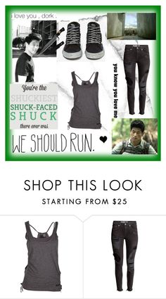 """Running the Maze with Minho ❤"" by takemetothecookies ❤ liked on Polyvore featuring Vans and Chloé"