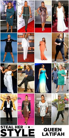 Steal Her Style: Queen Latifah #plus #size #fashion #style #blog #outfit #shop