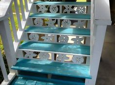 We create coastal themed house trim including decorative corner brackets, corbels, balusters, porch trim, porch railing panels, gate panel inserts, stair risers and nautical wall art including mermaids & sea turtles.