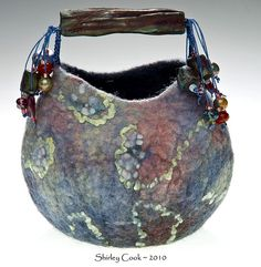 Shirley Cook: Dusk Vessel. Shirley makes amazing vessels; I am lucky enough to own several!
