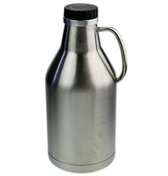 Barnster Double Walled Insulated Stainless Steel Jug One Half Gallon 64 oz >>> See this great product.Note:It is affiliate link to Amazon. #likes4likes