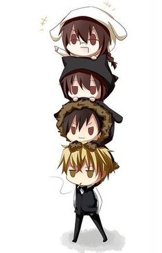 IZAYA! and the others are cute too.