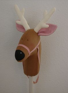 I have made this Tilda hobbyhorse/reindeer for my niece, Vigga. She turns two on the 2nd of December. I haven't decorated the reindeer with the red berries as suggested in the pattern because I am ...