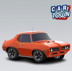 """¡Ya viene el Judge! ¡Agarra hoy el Pontiac 1969 y completa tu colección Clásico """"Puro Músculo""""!    28/01/2013"""