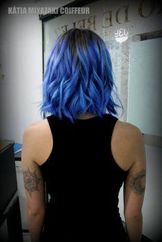 Katia Miyazaki Coiffeur - Salão de Beleza em Floripa: Corte Chanel - Coloração Colorido - Hair Style - A...