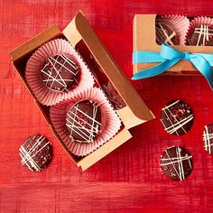 Crackling chocolate treats are tasty to eat, beautiful to look at, and easy to stack up for packaging and gifting.