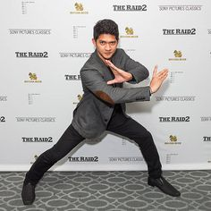 Actor Iko Uwais attends 'The Raid 2' - Los Angeles Premiere arrivals at Harmony Gold Theatre on March 12, 2014 in Los Angeles, California.