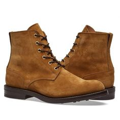 END. x Tricker's Low Leg Logger Boot (Marraca Suede)