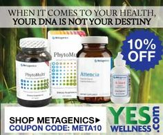 Save 10% off all Metagenics supplements. Use code: META10