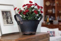 Flat Tire Decor offers a funky line of planters and trugs made from old tires.