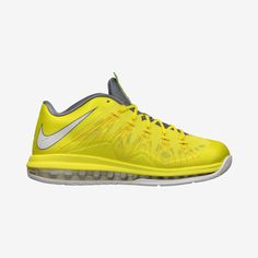6f2d1c80684 The Nike Air Max LeBron X Low Sonic Yellow is on sale now at Nike Store.  Learn more about the LeBron X Low Sonic Yellow at Nice Kicks.