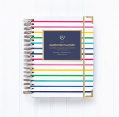 """WILL SHIP IN 1-2 BUSINESS DAYSWe trulybelieve that the """"battle for happiness is fought on the pages of our calendars"""" (Bob Goff,Love Does).After the birth of her son, Brady, Emily searched high and low for a planner with heart, not just bells and whistles and extras that left her even"""