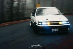 THE LIVING LEGEND // SATO'S GORGEOUS AE86.