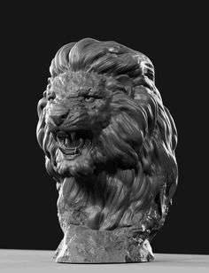 )😃 Offer to Your attention the grin of a lion ,the bust after some revisions and modifications) the Model is ready for printing. As always constructive criticism is welcome! Lion Love, Lion Art, Faux Taxidermy, 3d Models, Sculpture Clay, Animal Sculptures, Stone Carving, Clay Art, Statue
