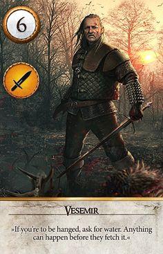 Vesemir (Gwent Card) - The Witcher 3: Wild Hunt