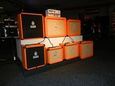Orange Guitar Amps are now in stock at our Lakeland location. Try out the Crush, Tiny Terror and Micro Crush in various sizes with or without built in tuners.