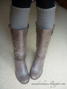 Cashere leg warmers