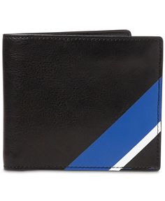Polo Ralph Lauren Men's Striped Leather Wallet
