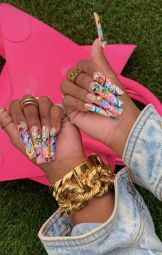 Gorgeous Nails, Love Nails, How To Do Nails, Glam Nails, Glitter Nails, Drip Nails, Long Nail Designs, Art Designs, Abstract Nail Art