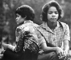 Washington Square, New York City  by Dave Heath, 1960; part of Posing Beauty in African American Culture  September 7-December 3, 2011