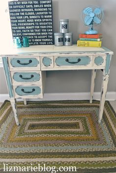 Great blog for lots of great furniture makeovers & how to re-do furniture! Great before and after photos.. Awesome blog for inspiration!