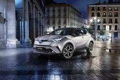 Toyota C-HR впервые заметили на дорогах России - http://amsrus.ru/2017/05/30/toyota-c-hr-vpervye-zametili-na-dorogah-rossii/