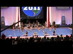 Maryland Marlins Tsunami Worlds 2011 Day 2 - Day 1 the lights went out in the stadium and they had to perform again. Day 2, they stopped for an injury, had to choreograph the girl out and perform again