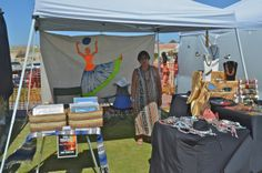 Beautiful necklace stand at San Felipe Blues and Arts Fiesta March 28th, 2014 #sanfelipe #sanfelipebluesandarts