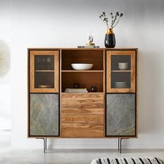 Designer Crockery Units: Buy Crockery cabinet Online At Best Price. Choose From Wide Range of crockery showcase Designs at The Home Dekor, Free Shipping in Australia. Wooden Bookcase, Wooden Sofa, Crockery Cabinet, Crockery Units, Units Online, Stone Cladding, Buy Furniture Online, Cabinet Making