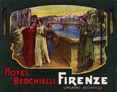 Vintage Italian Posters ~ #Italian #vintage #posters ~ Firenze
