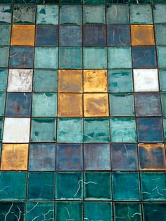 The natural rustic charm, unintentional refinement: these are what give Okinawa its unique aesthetic. In part 1 and part 2 of this series I wanted to share the unique elements of Naha through its s… Colour Schemes, Color Patterns, Color Combinations, Tile Patterns, Palette Design, Tadelakt, Teal And Gold, Teal Blue, Design Seeds
